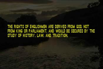 Rights Of Englishmen Quotes