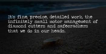 Safecrackers Quotes