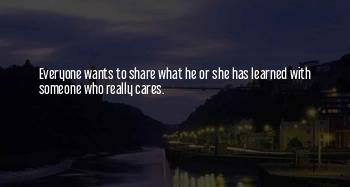 Someone Who Really Cares Quotes