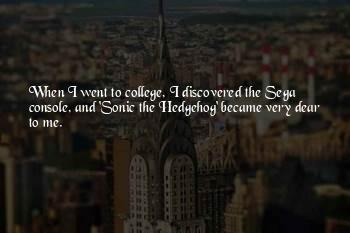 Sonic The Hedgehog Quotes