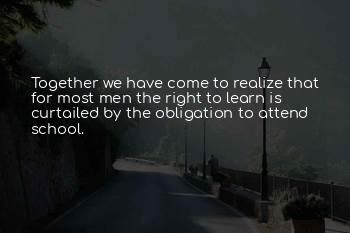 Together We Learn Quotes