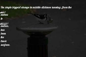 Track Distance Running Quotes