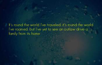 Traveled The World Quotes