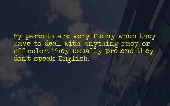 Very Funny English Quotes