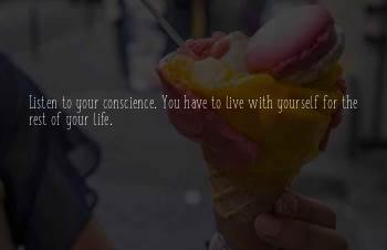 You Have To Live For Yourself Quotes